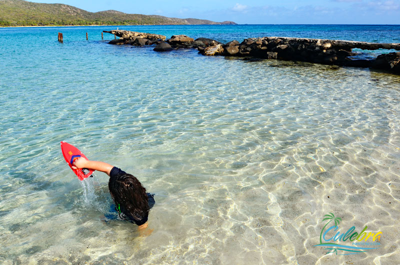 Flamenco Beach - Great beach for Kids - Culebra, Puerto Rico
