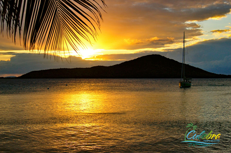 Sunset in Culebra Island, Puerto Rico